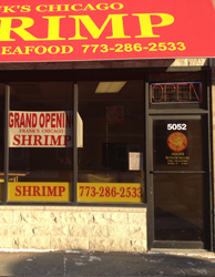 Franks Shrimp Irving Park Location